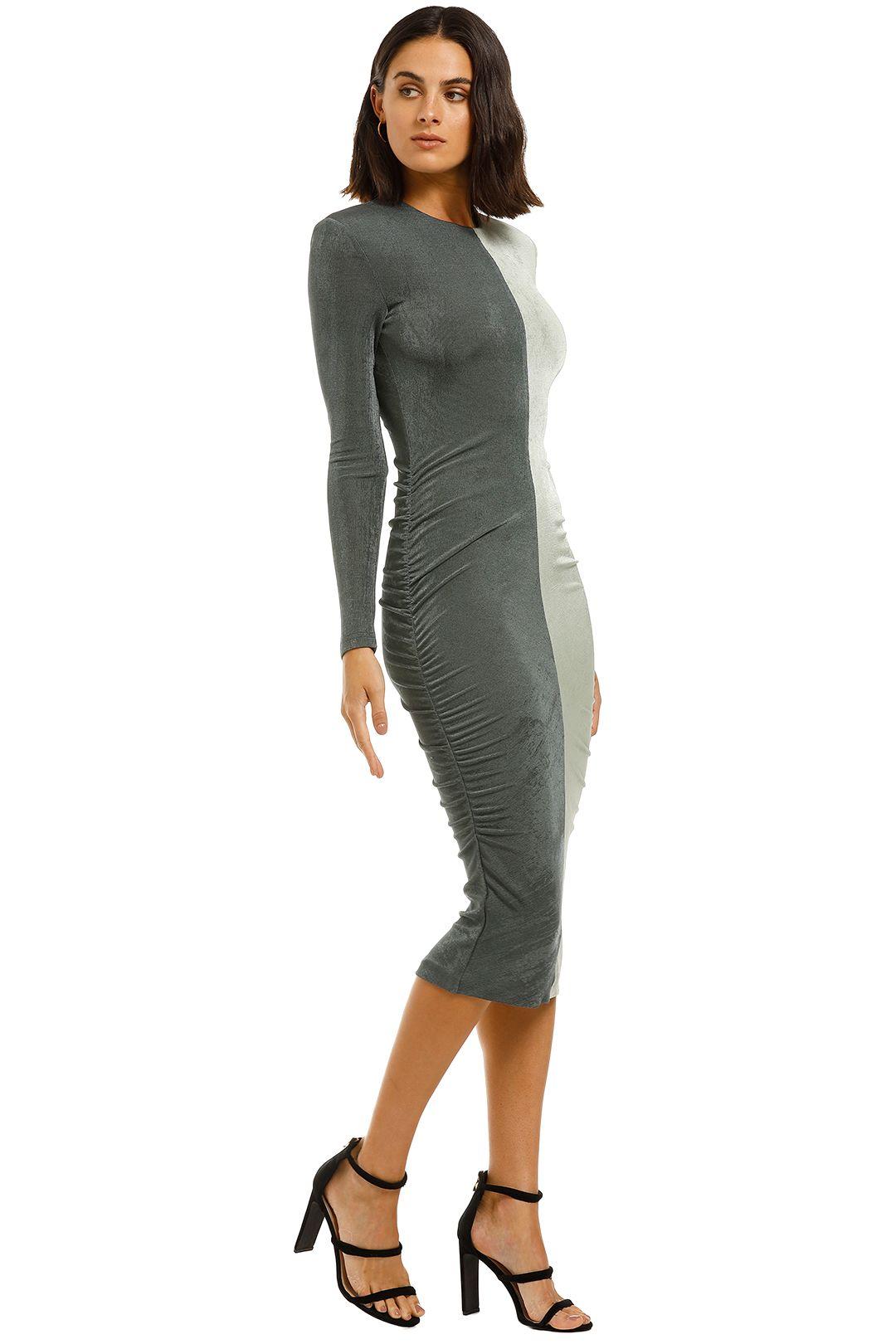 Misha-Leta-Dress-Grey-Side