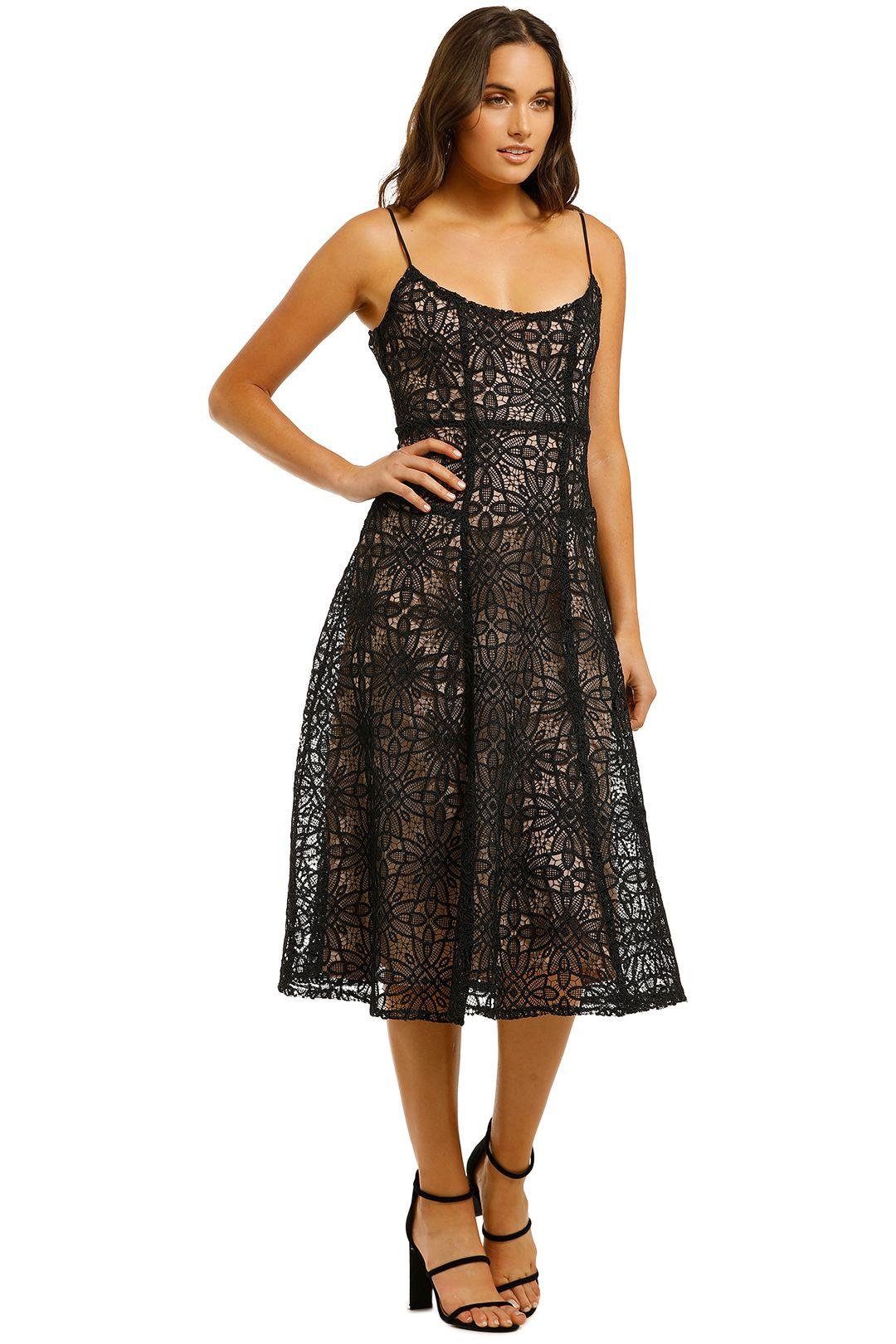 Misha-Marzia-Dress-Black-Side