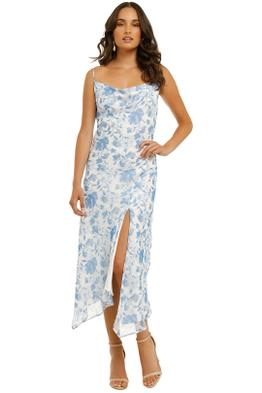 Misha-Miriam-Dress-Blue-Floral-Front