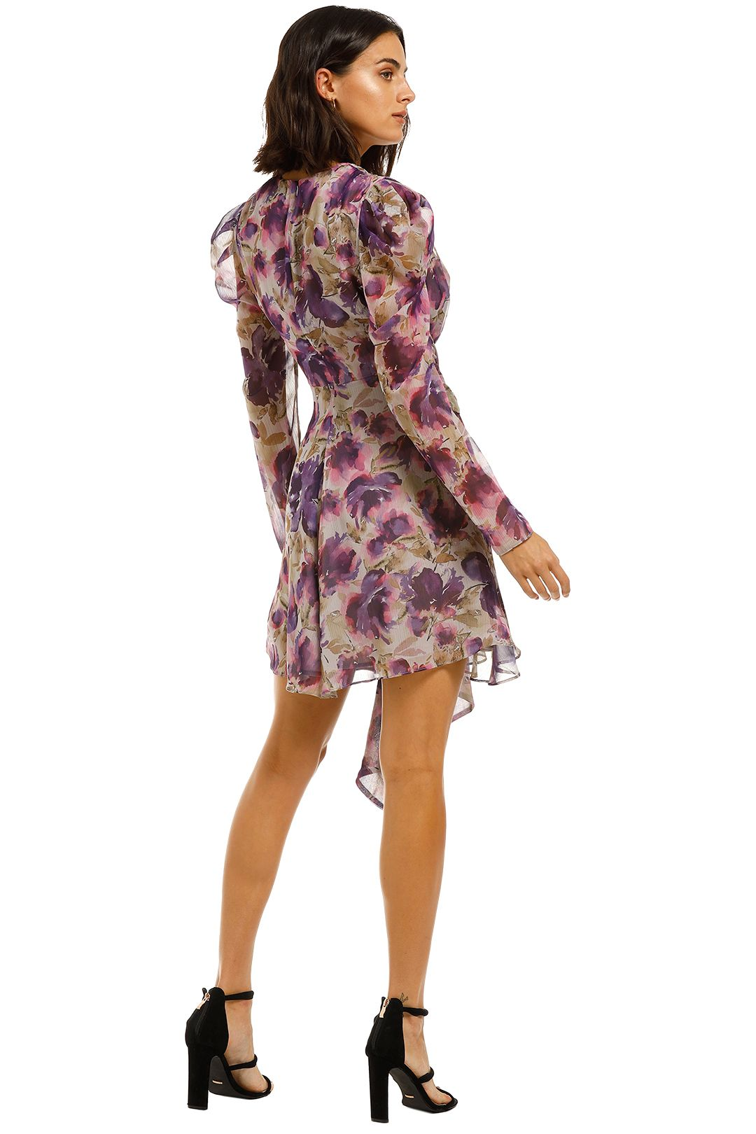Misha-Nikita-Dress-Floral-Back
