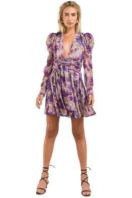 Misha-Nikita-Dress-Floral-Front