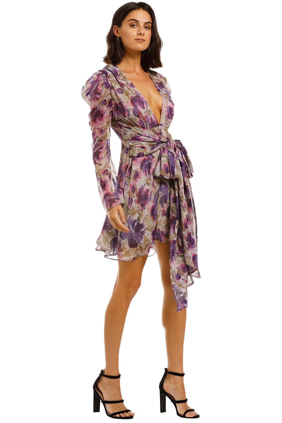Misha-Nikita-Dress-Floral-Side