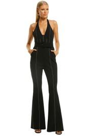 Misha-Sharlene-Pantsuit-Black-Front