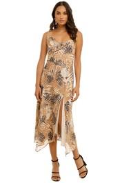 Misha-Tashana-Dress-Animal-Front