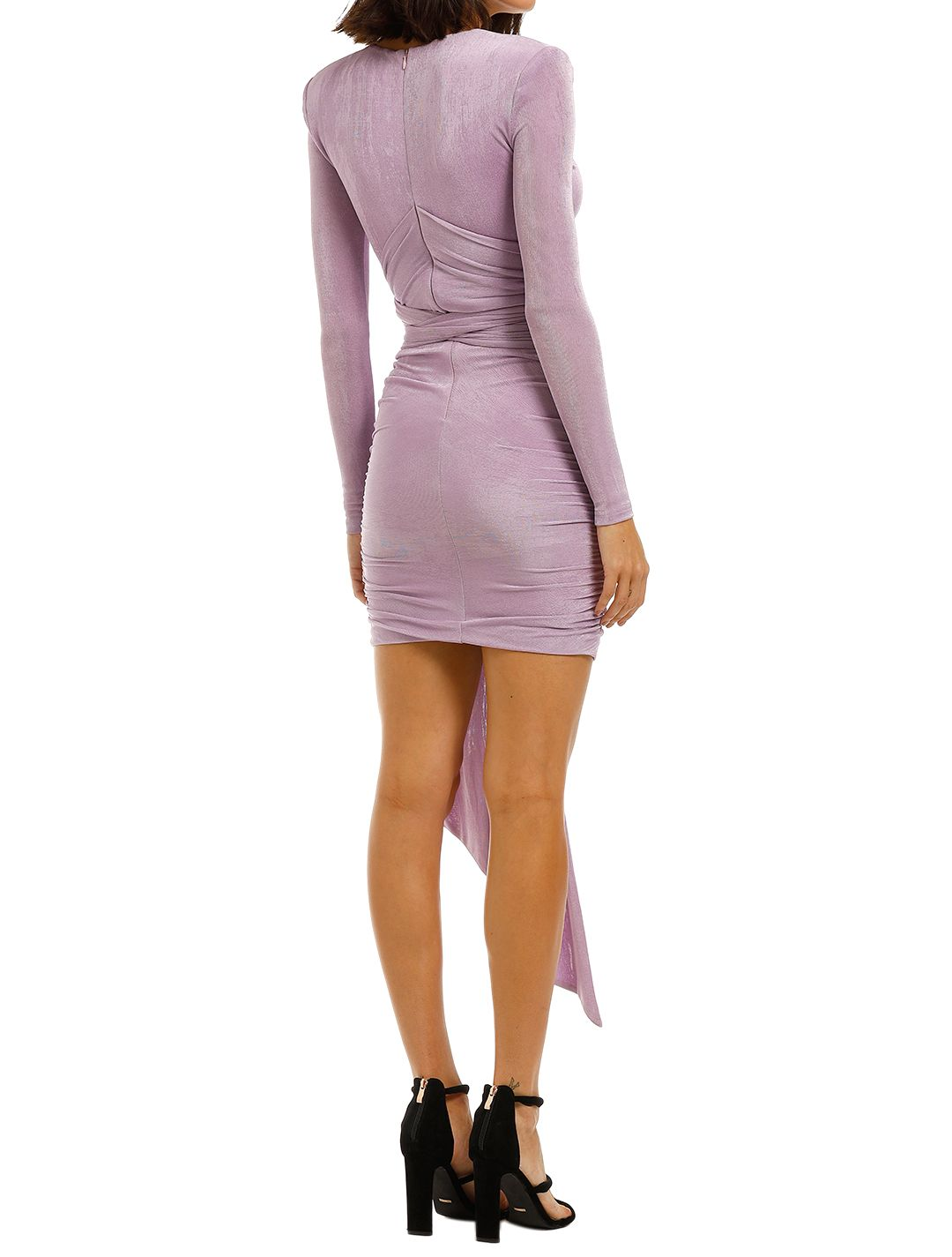 Misha-Winx-Dress-Lilac-Back