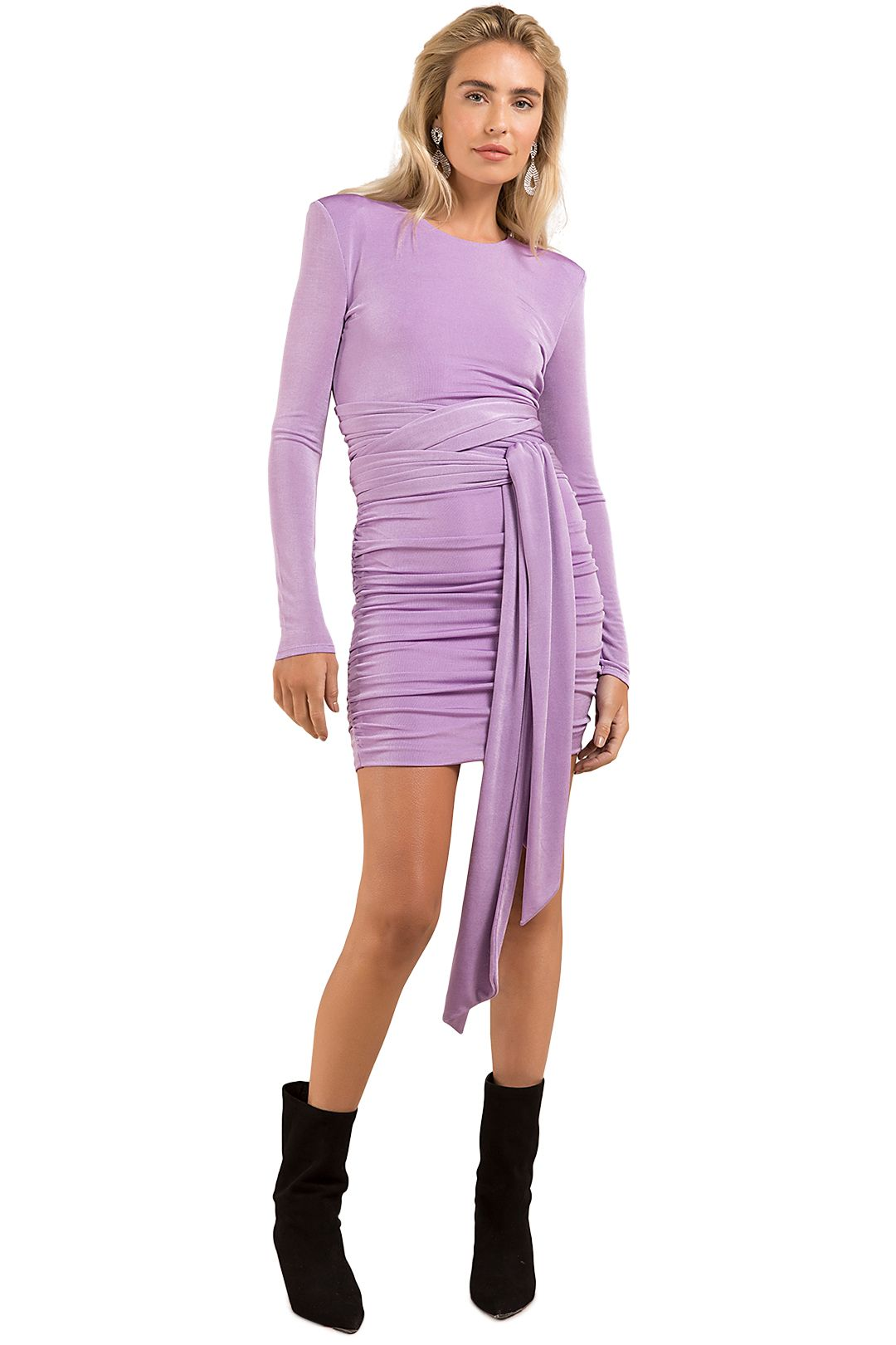 Misha-Winx-Dress-Lilac-Front