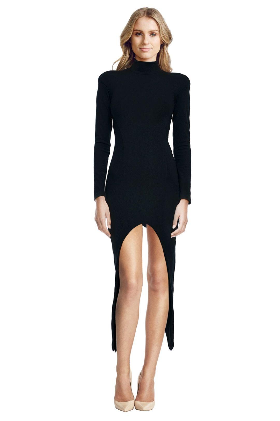 Misha Collection - Allegra Dress - Black - Front