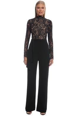 Misha Collection - Allegra Pantsuit - Black - Front