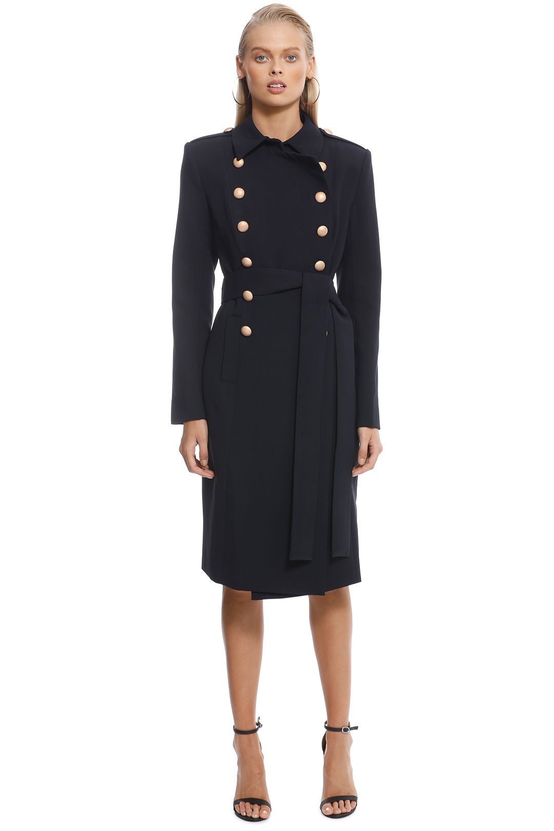 Misha Collection - Andrea Coat – Navy - Front