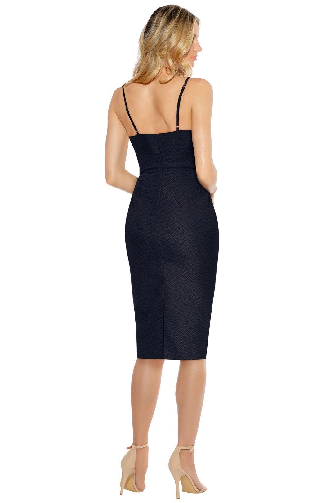 Misha Collection - Felicienne Dress - Black - Back