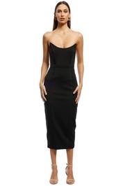Misha Collection - Lea Dress - Black - Front