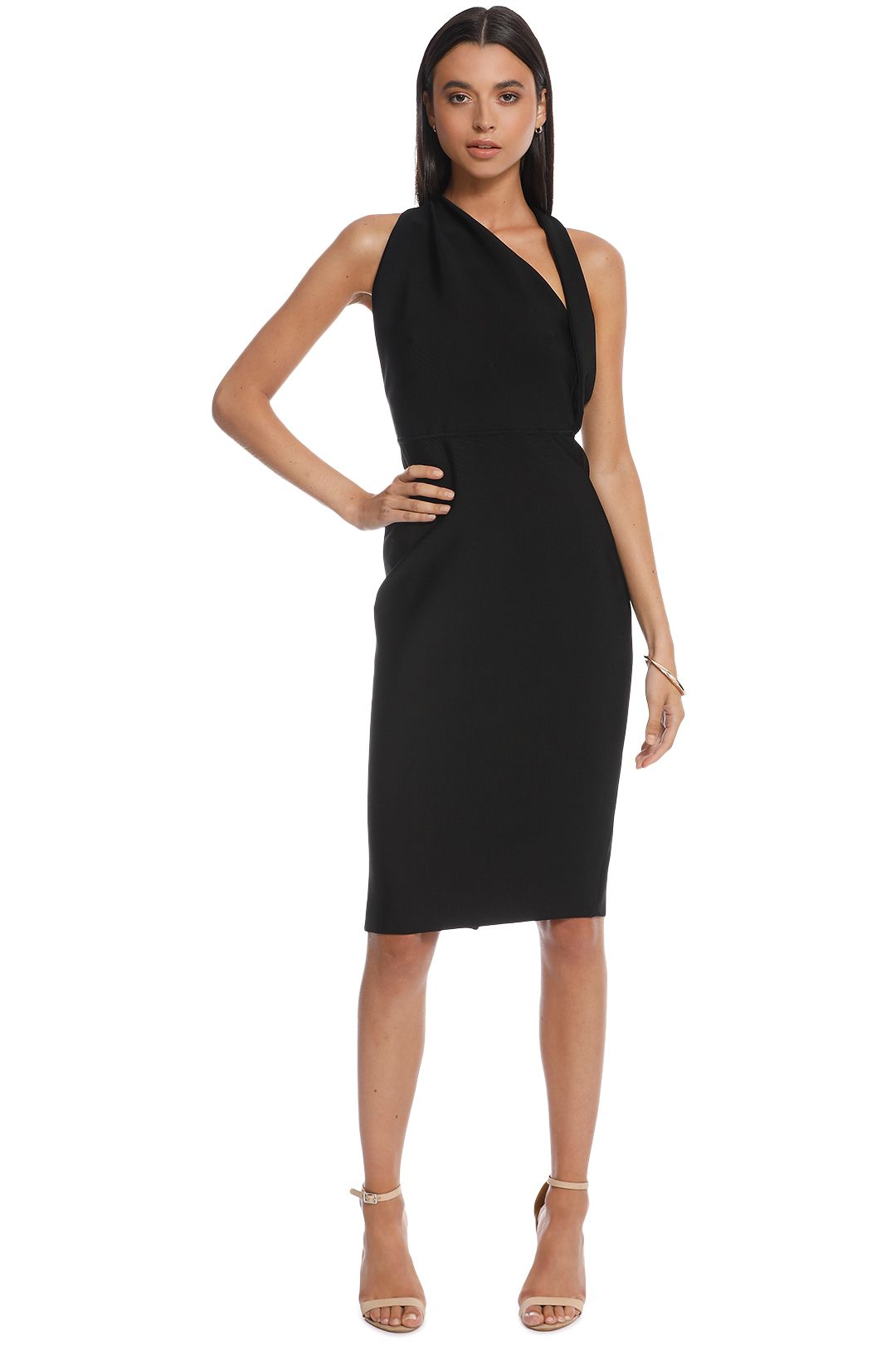Misha Collection - Misu Dress - Black - Front