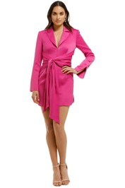 Misha Collection - Teagan Dress - Fuschia - Front