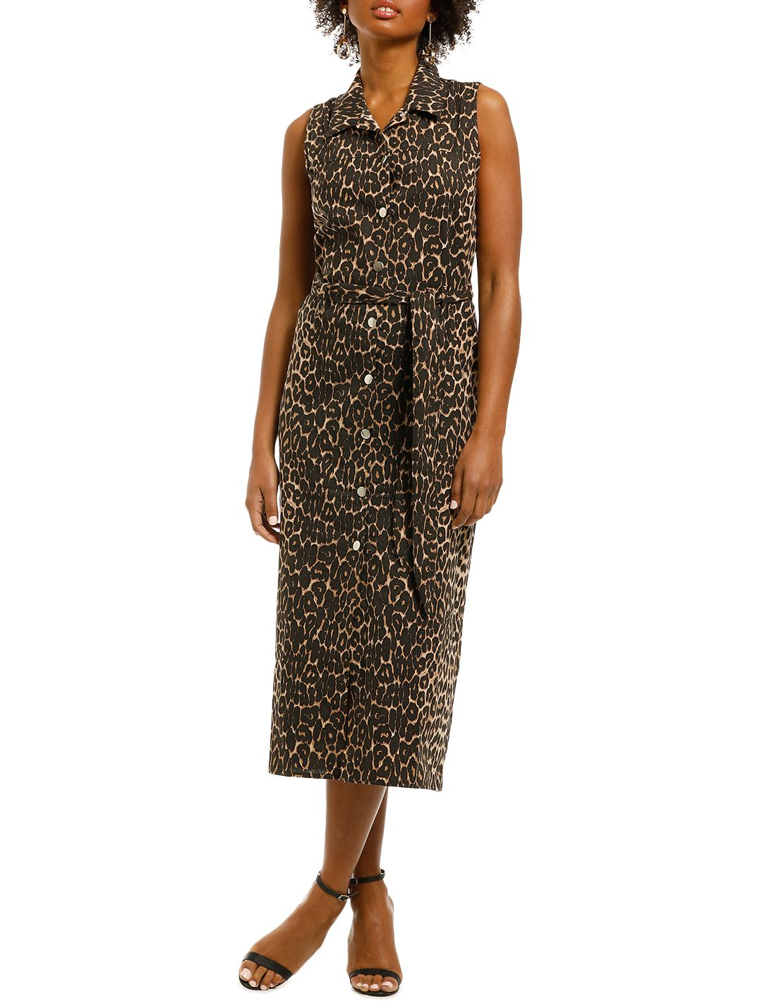MLM-Label-Sorcery-Midi-Dress-Leopard-Front