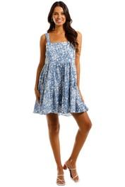 MLM Label Flora Dress Heavens Blue