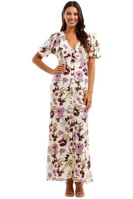 MLM Label Nile Maxi Dress Aster Floral Light Boho Feminine