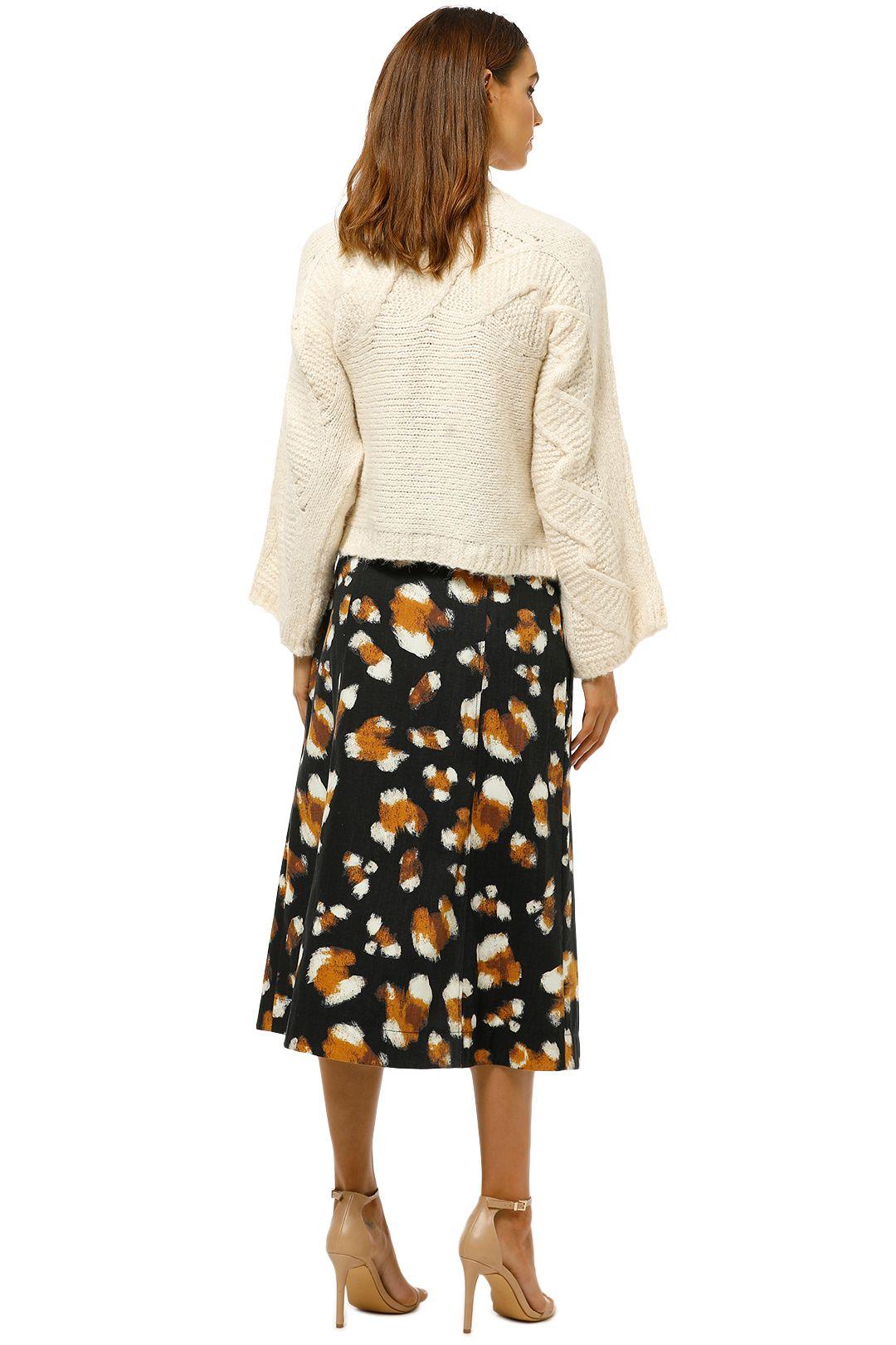 MNG-Contrasting-Knit-Sweater-Ecru-Back
