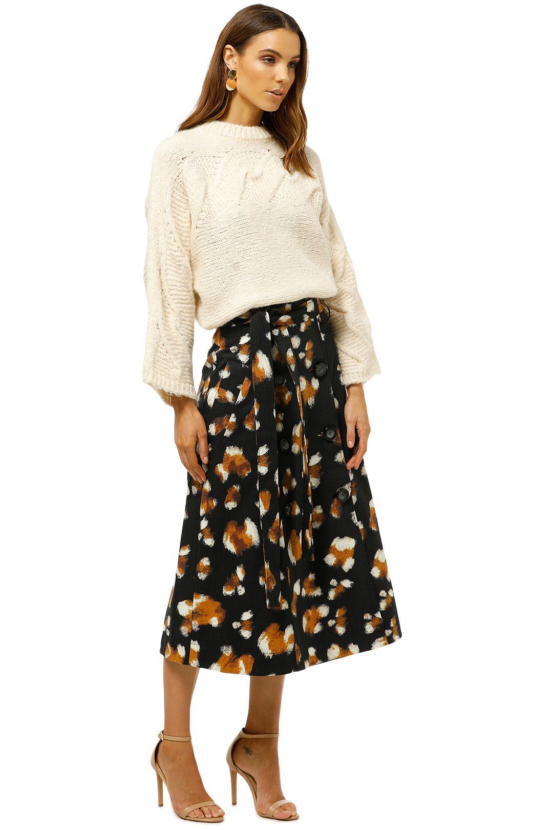 MNG-Contrasting-Knit-Sweater-Ecru-Side