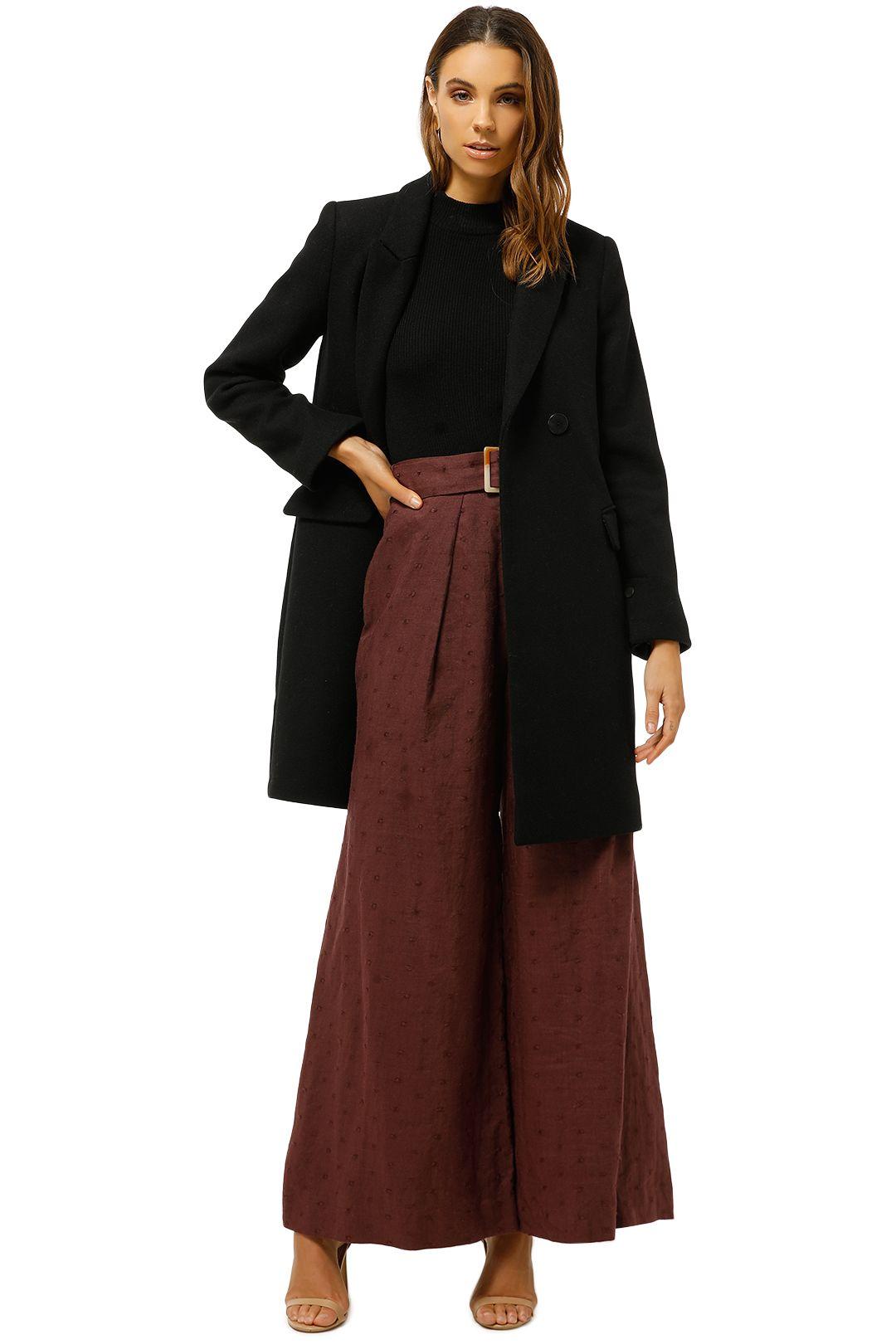 MNG-Masculine-Structured-Coat-Black-Front