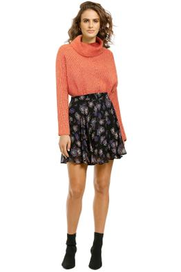MNG-Cowl-Neck-Sweater Burnt-Orange-Front