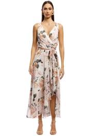 Montique-Rosie-Print-Chiffon-Dress-Blush-Front