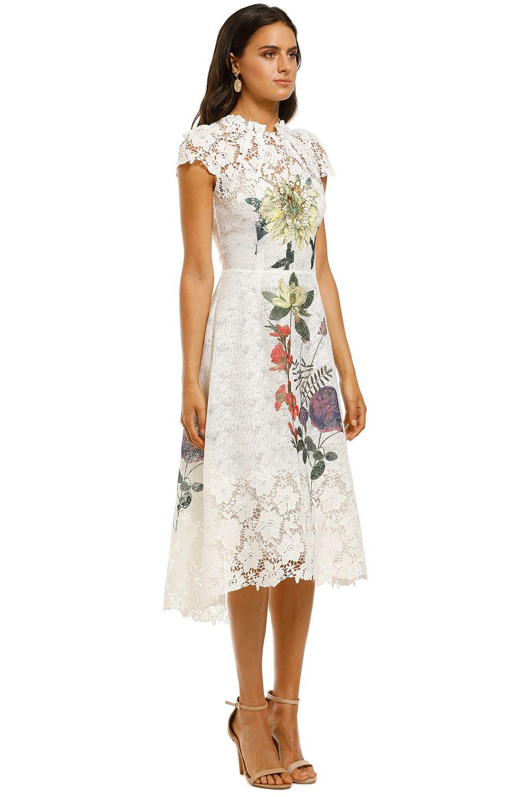 Moos-and-Spy-Fleur-Dress-White-Side