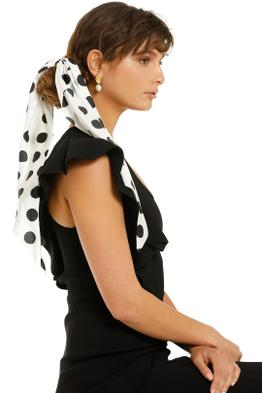 Morgan-and-Taylor-Gretchen-Scrunchie-With-Long-Tails-White-Spot-Product-One