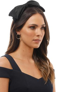 Morgan and Taylor - Arianna Fascinator - Black - Product Image