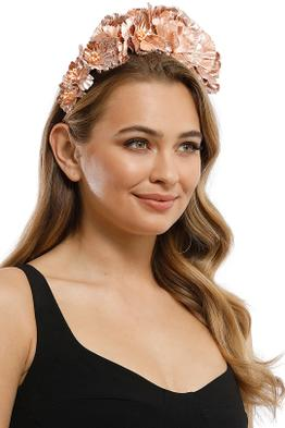Morgan and Taylor - Blair Fascinator - Rose Gold - Product
