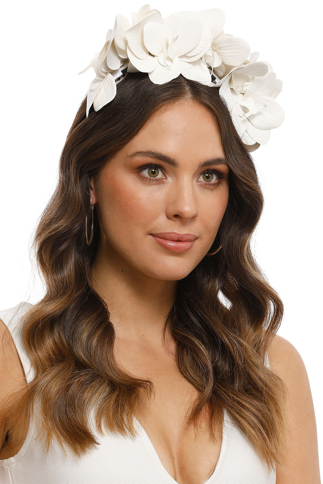 Morgan and Taylor - Celine Fascinator - White - Product