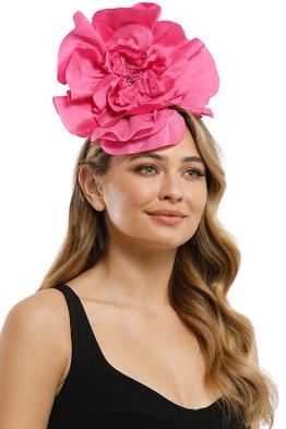 Morgan and Taylor - Cindy Fascinator - Hot Pink - Product