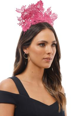 Morgan and Taylor - Gracelyn Fascinator - Hot Pink - Product Image
