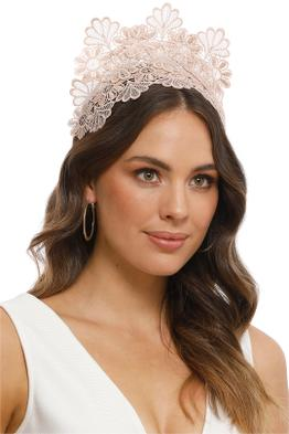 Morgan and Taylor - Kaisha Dusty Pink Fascinator - Pink - Product
