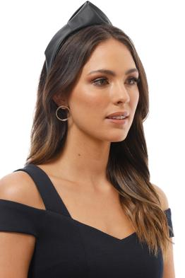 Morgan and Taylor - Octavia Turban - Black - Product Image