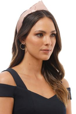 Morgan and Taylor - Octavia Turban - Rose Gold - Product Image