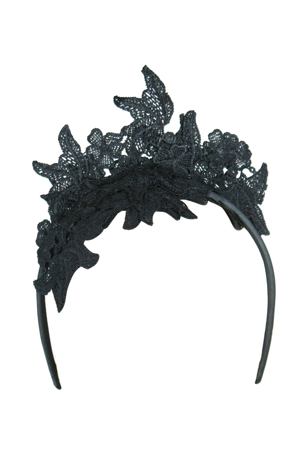 Morgan & Taylor - Sassi Fascinator - Black - Front