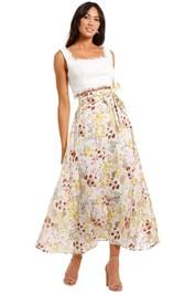 Morrison Andreas Print Cotton Maxi Skirt