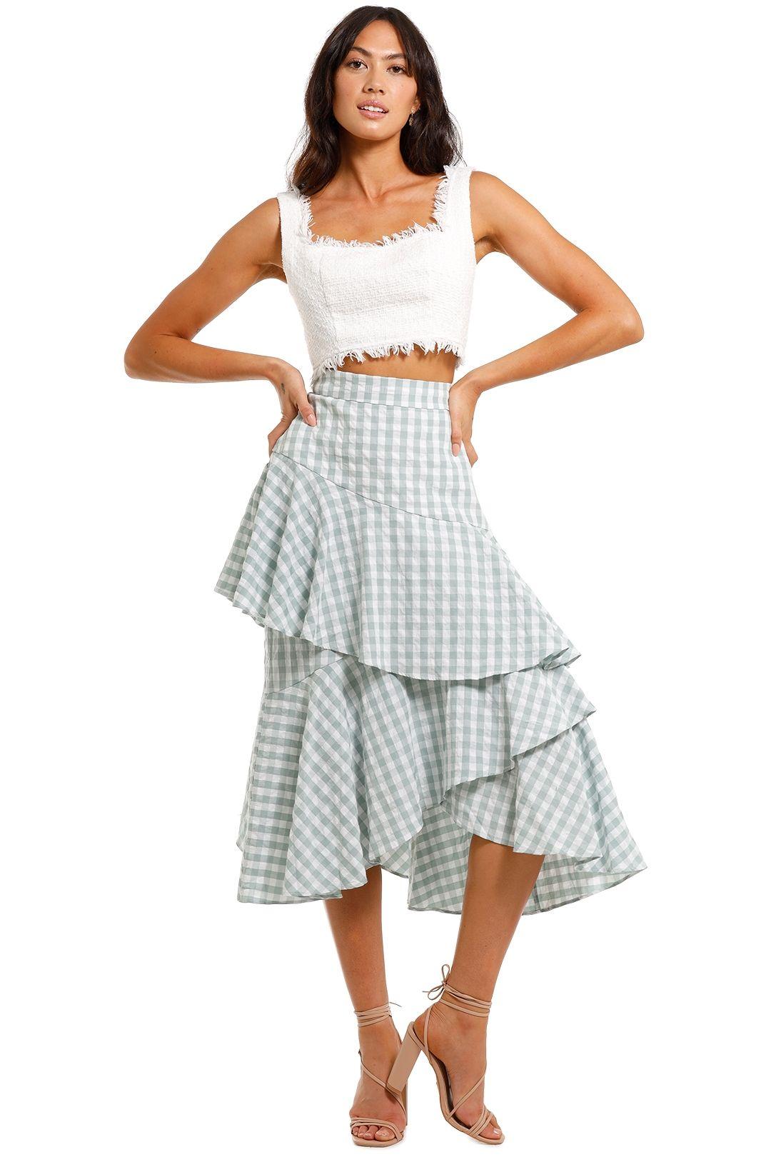 Morrison Coda Long Skirt tiered