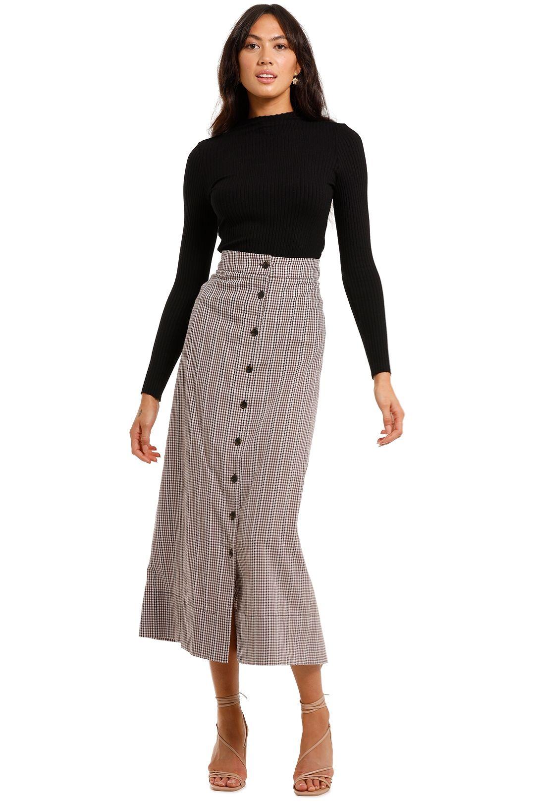 Morrison Tana Maxi Skirt check