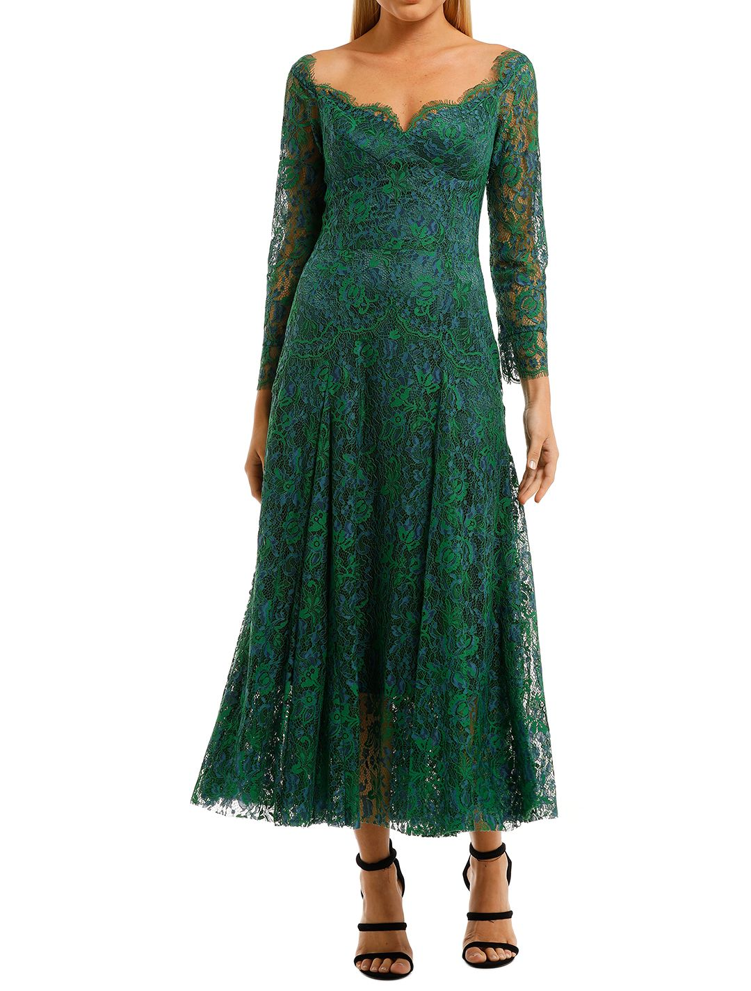 Moss-and-Spy-Kathleen-Dress-Emerad-Front