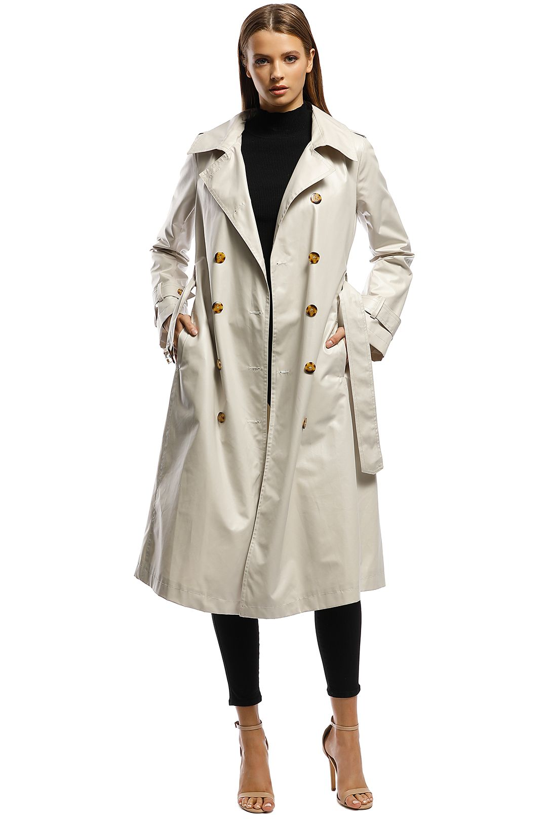 Moss-and-Spy-Poirot-Trench-Beige- Front B