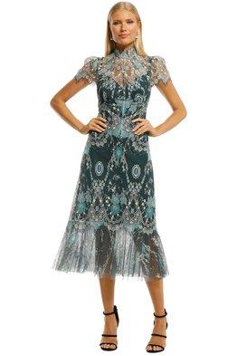 Moss and Spy - Cynthia High Neck Dress