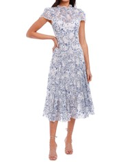 Moss and Spy Elodie Dress Blue