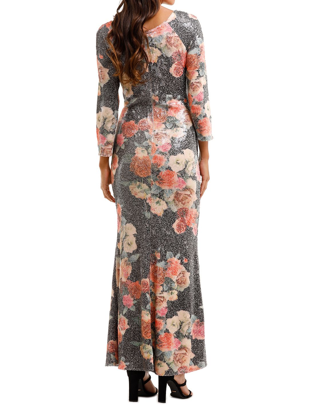 Moss and SpyMatisse Gown Floral Multi