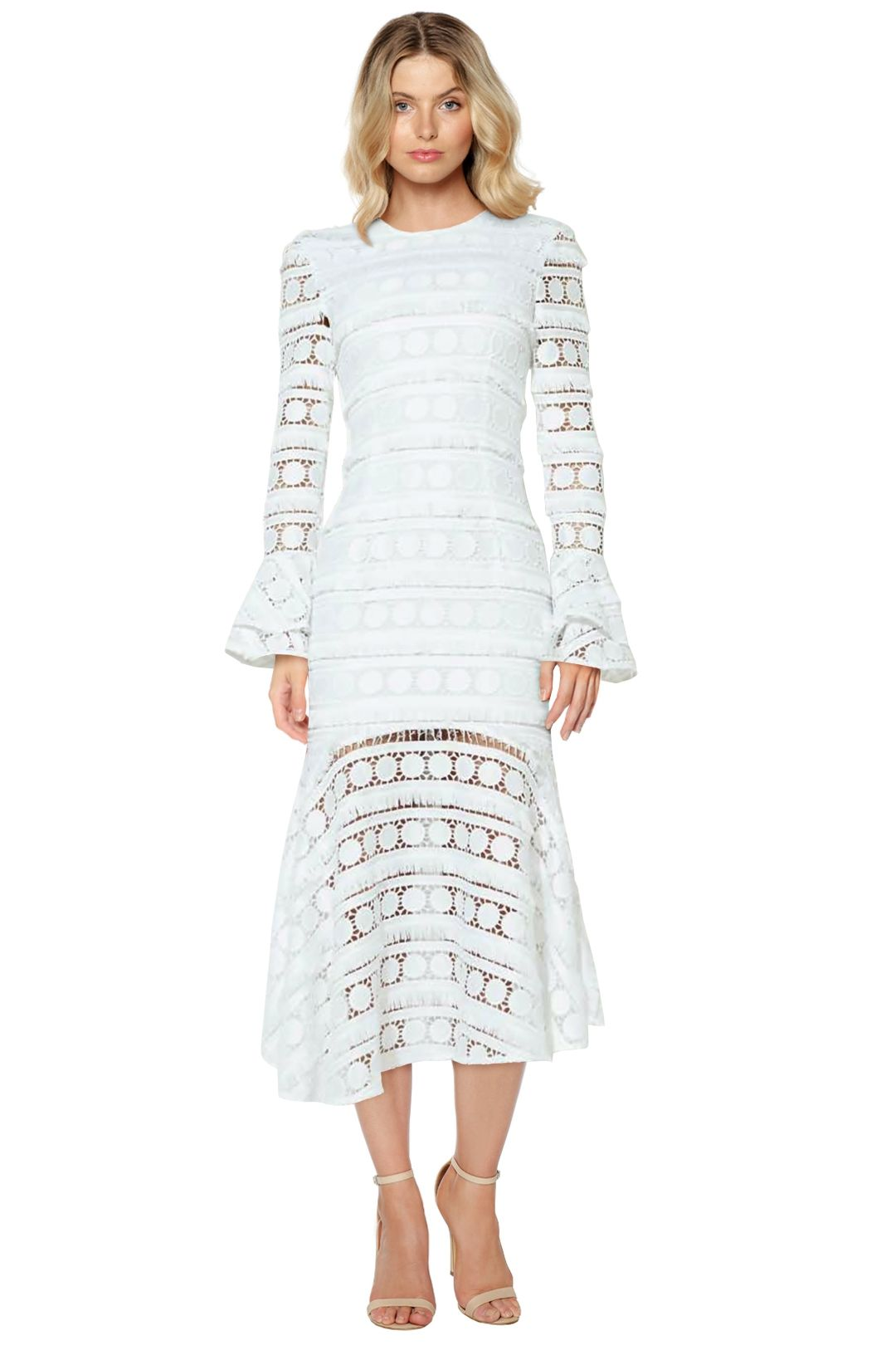 Mossman - Miss Moonlight Long Dress - White - Front