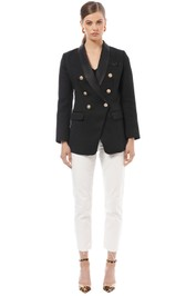 Mossman - The Sartorial Blazer - Black - Front