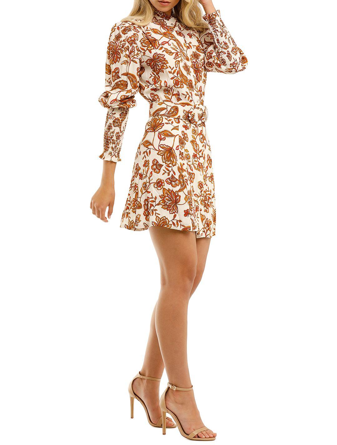 Nicholas-Agadir-Dress-Ivory-Paisley-Floral-Print-Side