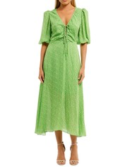 Nicholas-Danielle-Dress-Green-Front