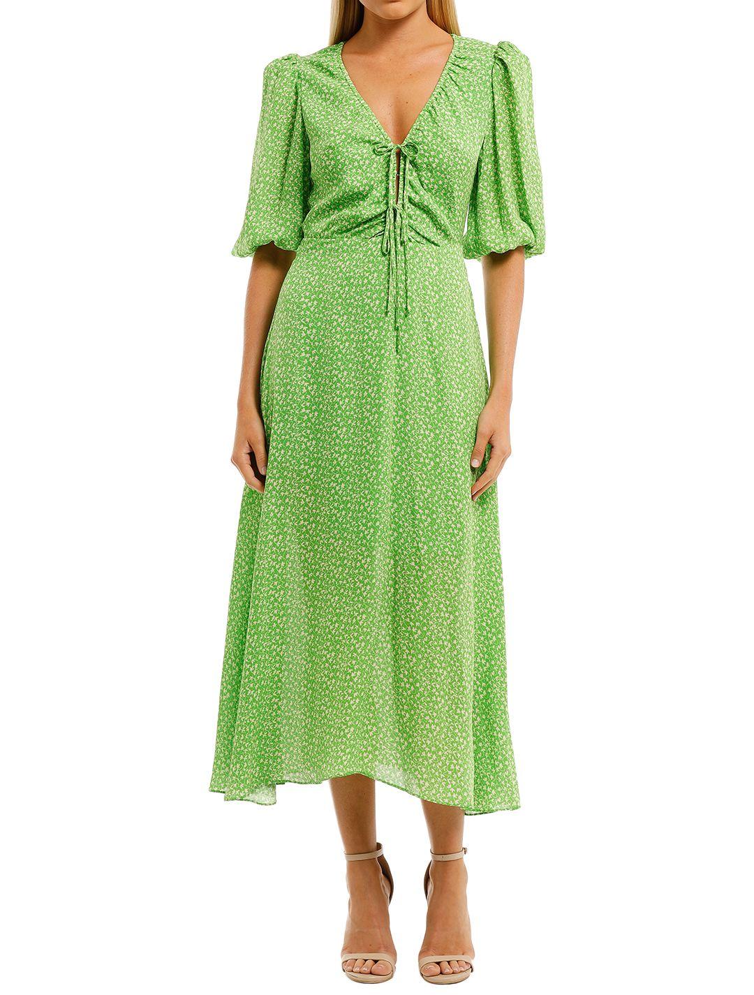 Nicholas-Danielle-Dress-Green-Front