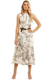 Nicholas-Filipa-Belted-Maxi-Dress-Print-Front